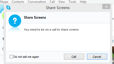 skype screen sharedailogbox