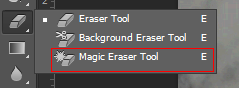 Photoshop Magic Eraser Tool
